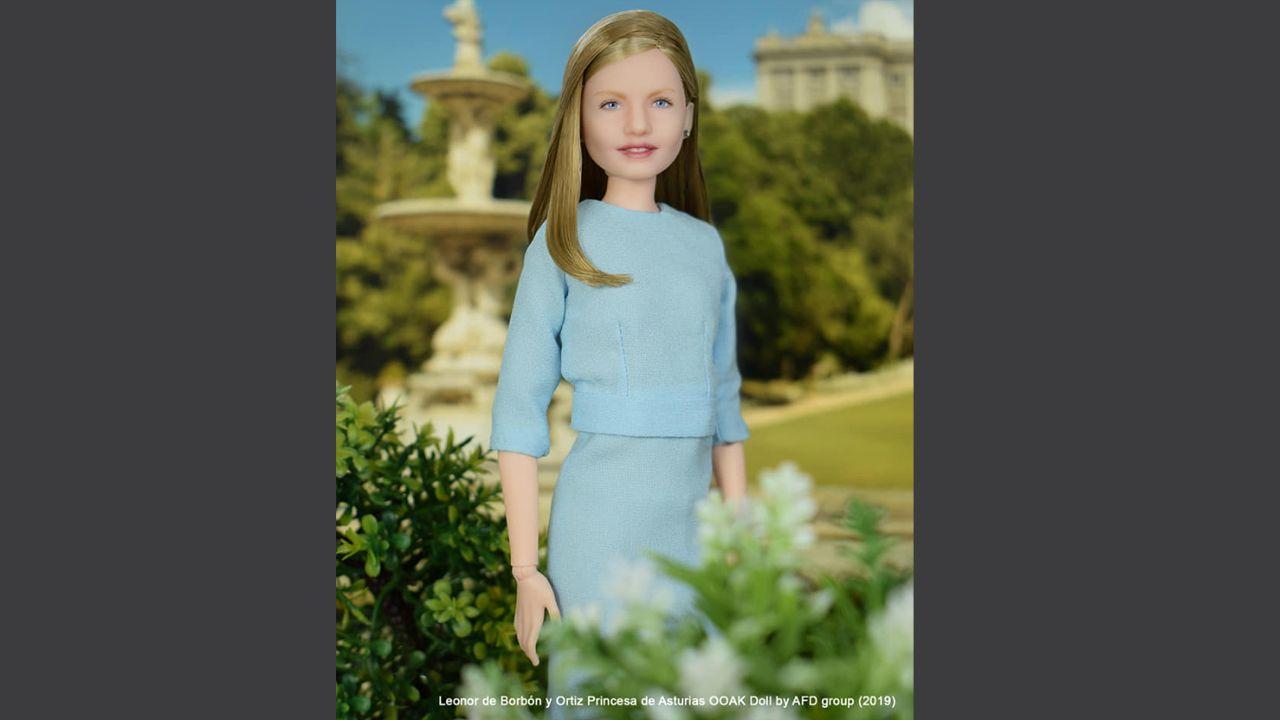 Las muñecas de la Princesa de Asturias.La princesa Leonor