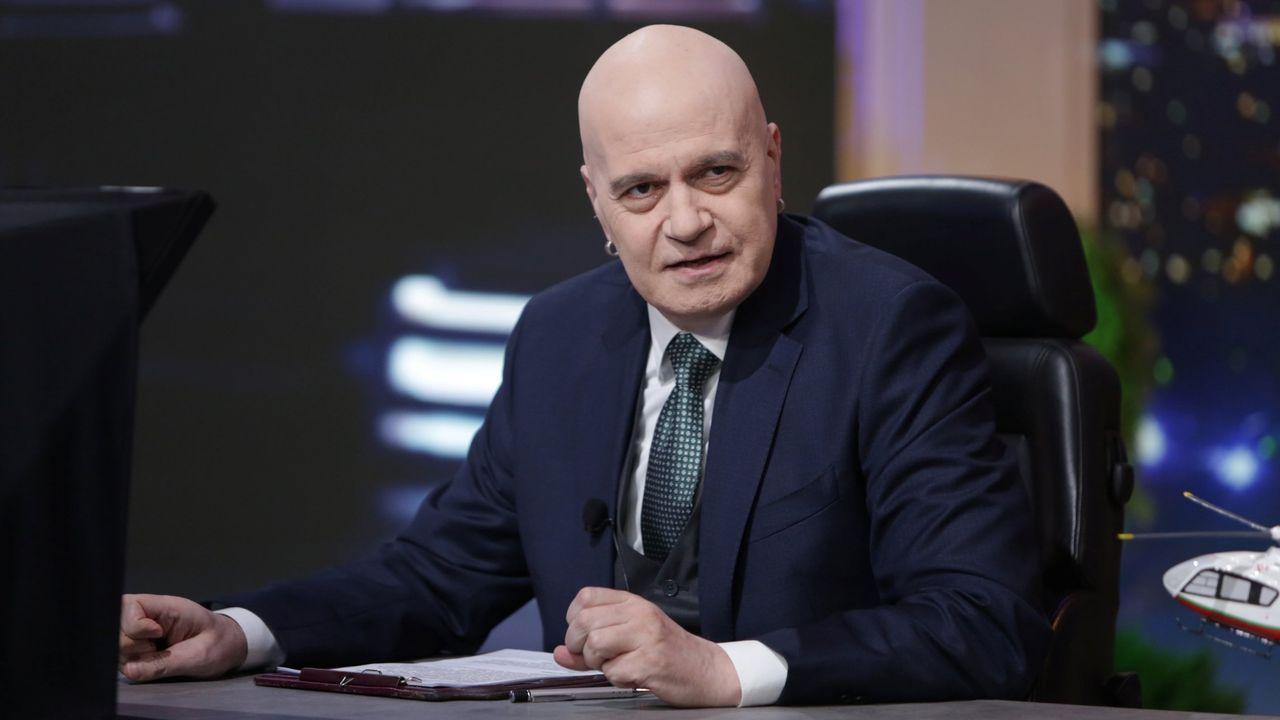 Slavi Trifonov, un cantante y expresentador de un popular programa de sátira política, lidera el partido Existe Tal Pueblo