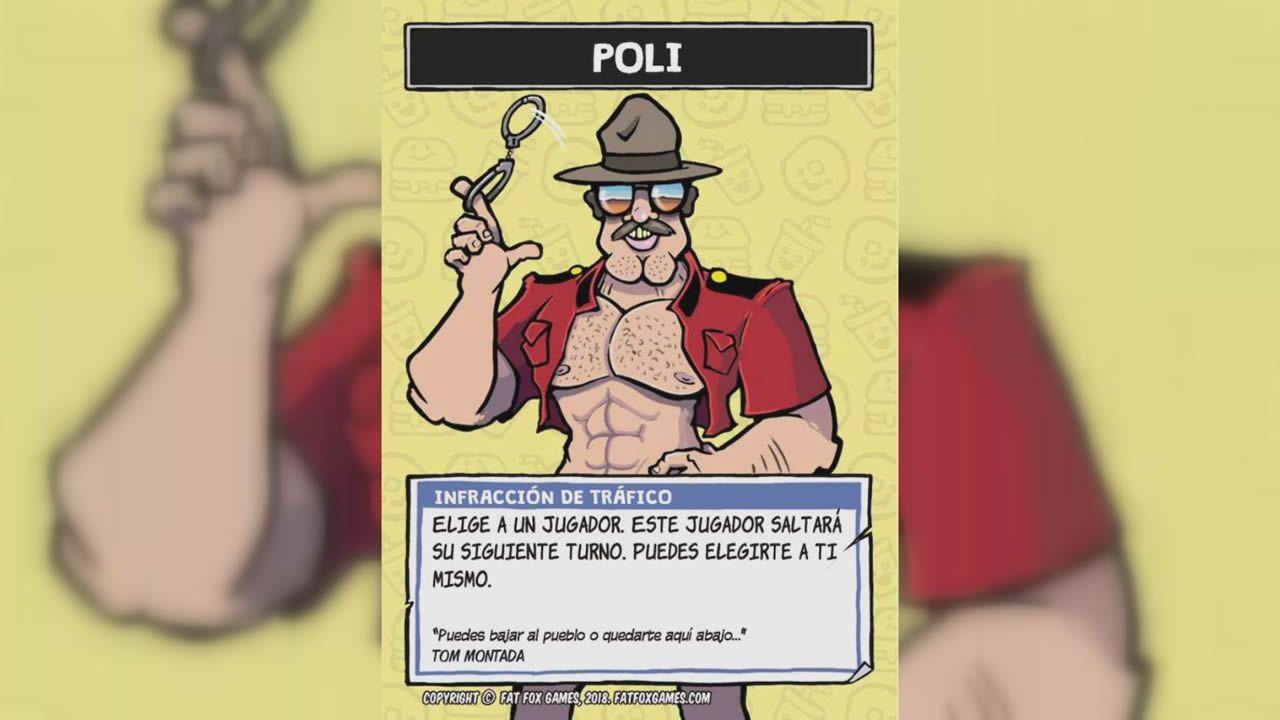 «Poli», una carta que permite al poseedor saltar turno u obligar a otro jugador a hacerlo