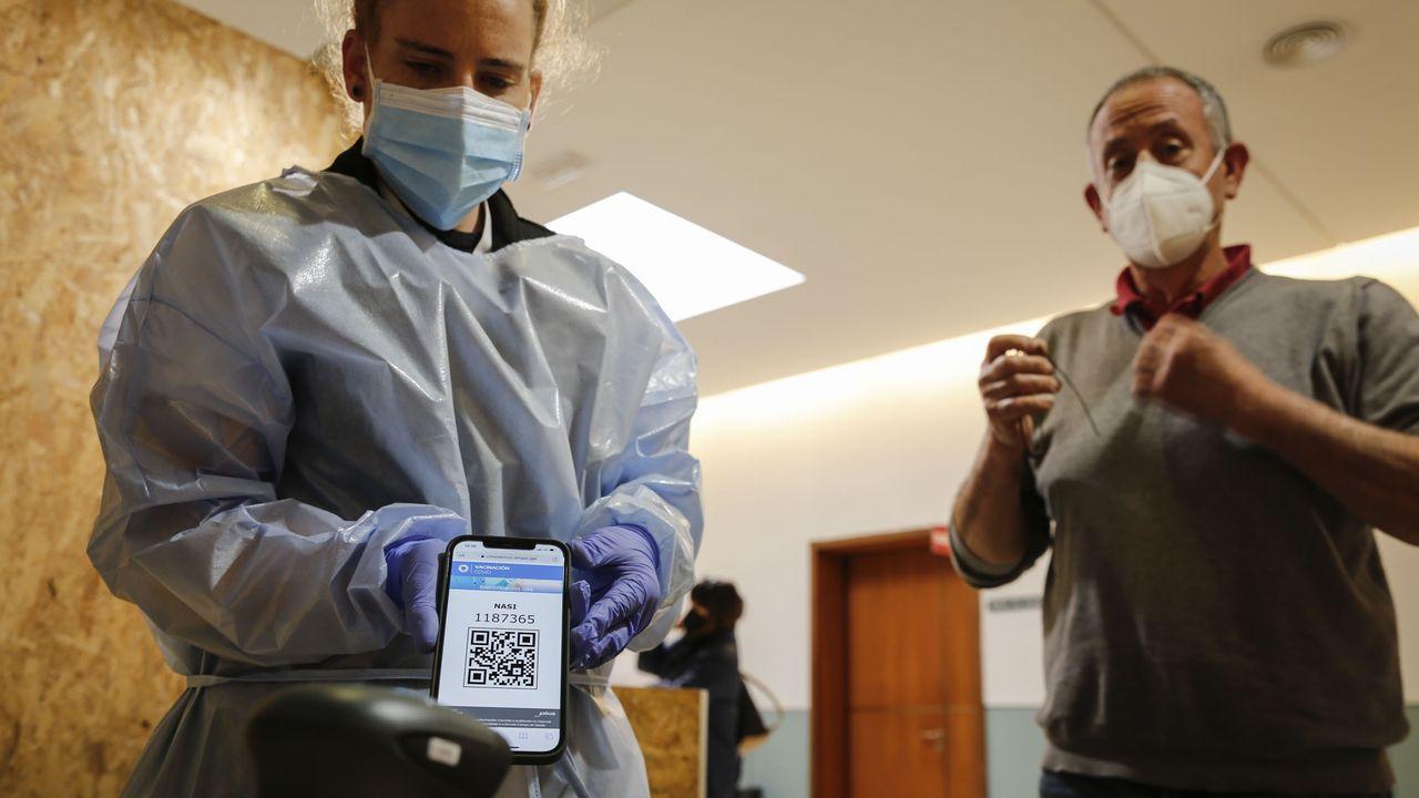 En Expourense serán vacunadas esta semana 15.365 personas