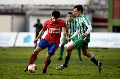 Iker Alegre volverá al once ourensanista tras su descanso en la visita a Balmaseda.