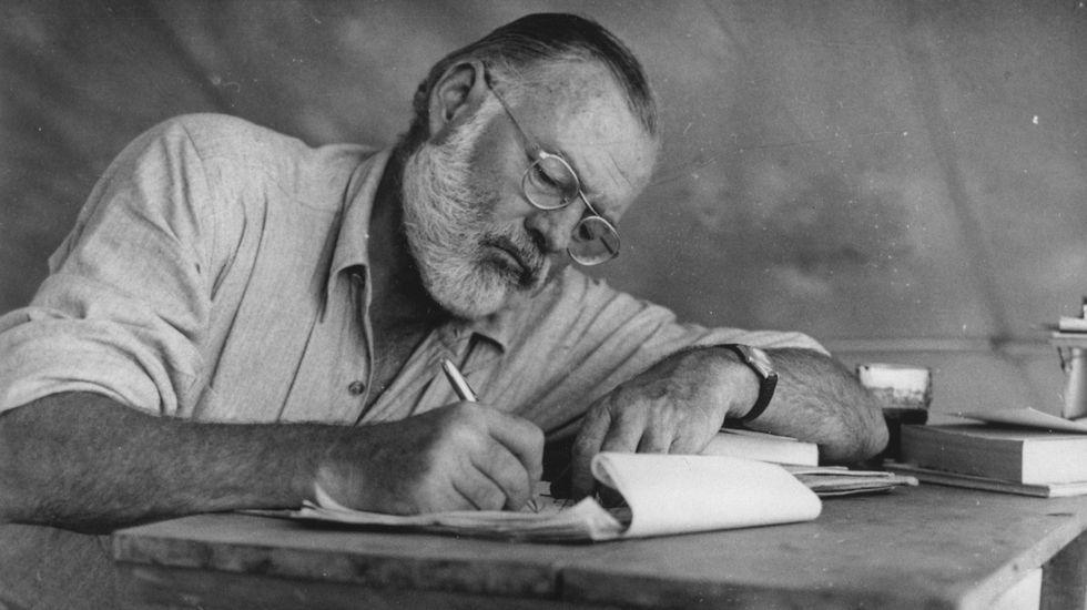 Las luces que en vez de encender el Nadal prendieron el cabreo.Ernest Hemingway
