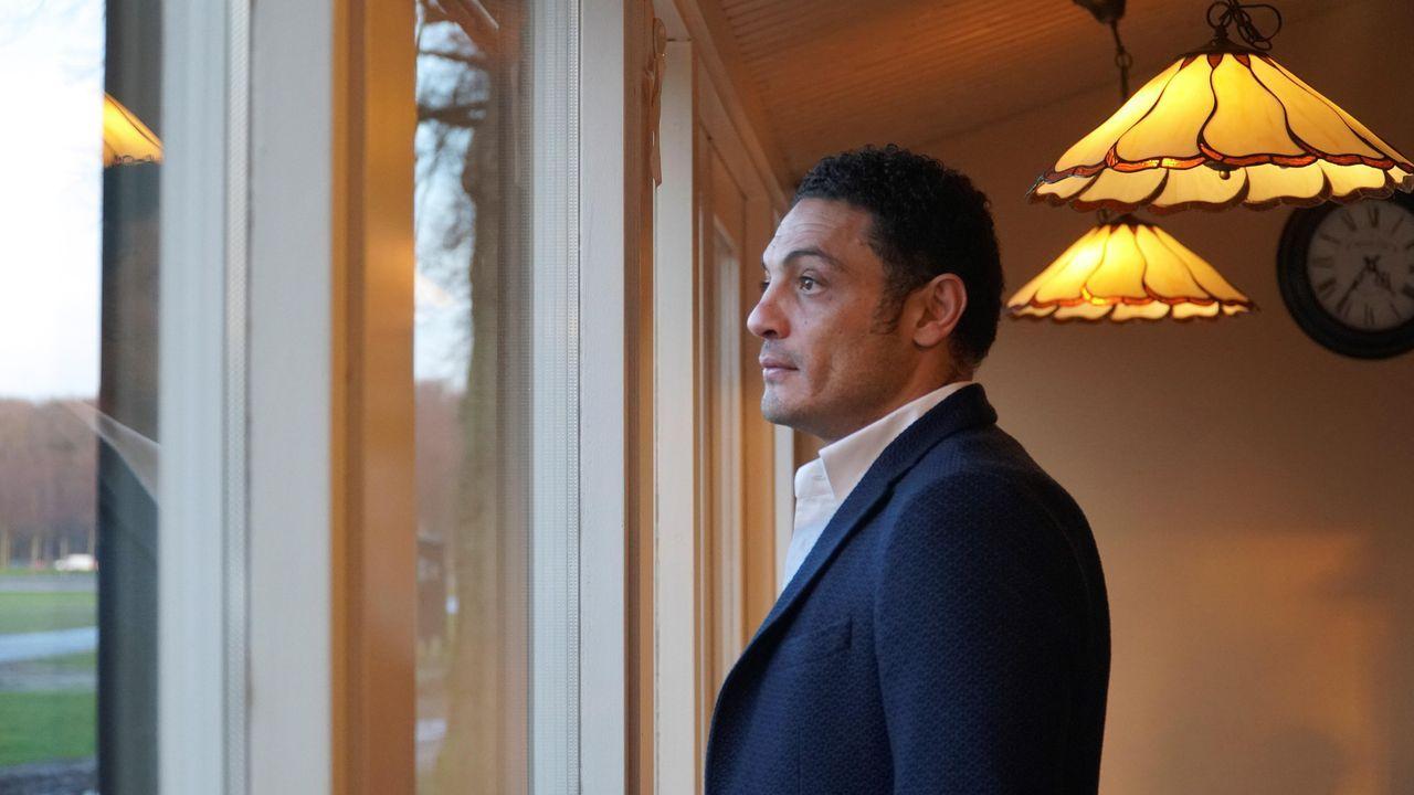 Mohamed Ali, en La Haya, donde ha reaparecido para anunciar su plan