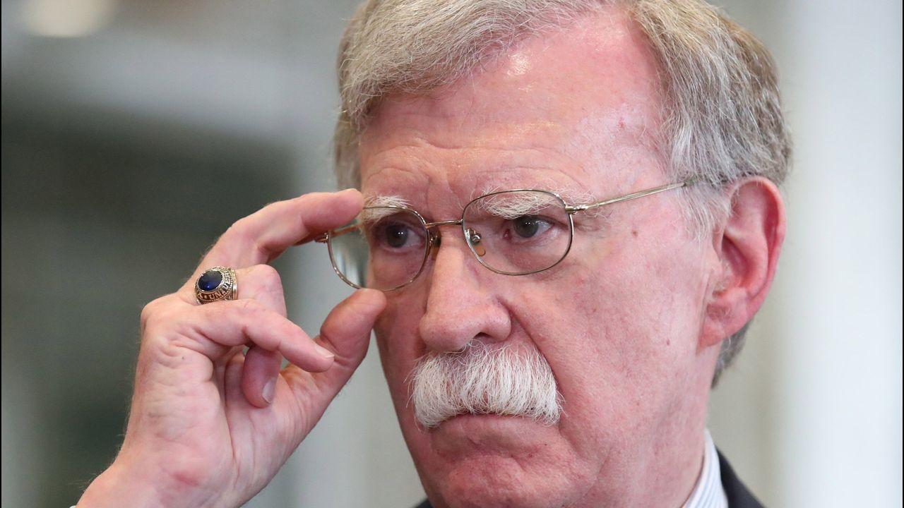 El exconsejero de Seguridad Nacional de Estados Unidos, John Bolton