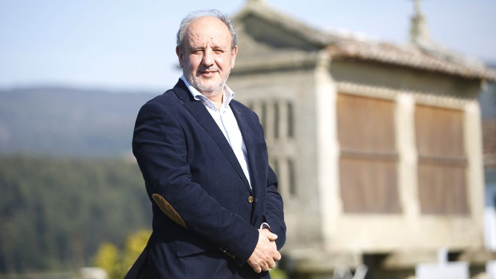 Miguel Ángel Vázquez, presidente de la Sociedade Galega de Xerontoloxía e Xeriatría