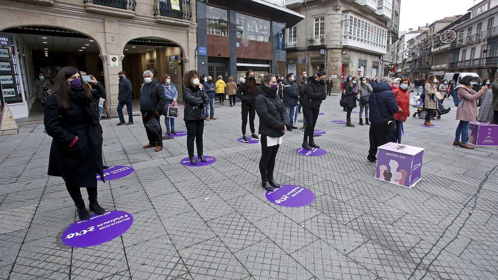 Actos del 25N en Pontevedra