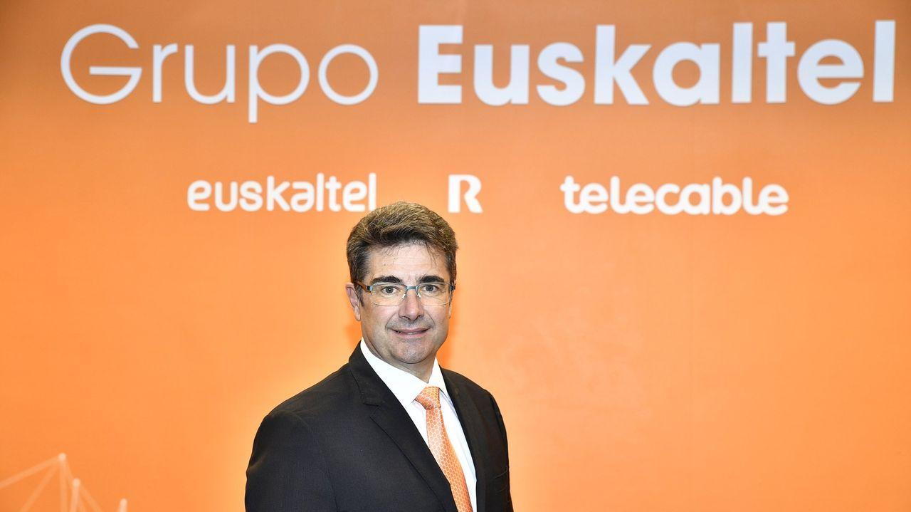 José Miguel García, consejero delegado de Euskaltel