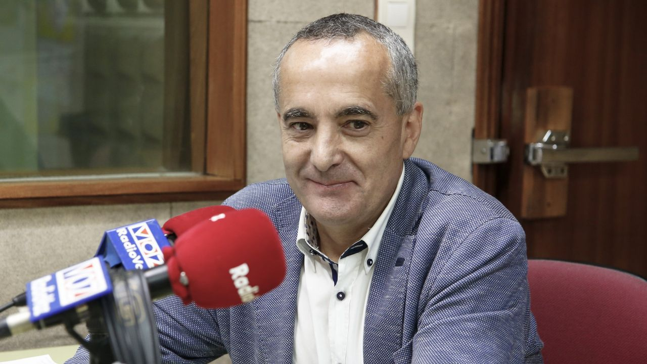 Entrevista a Gonzalo Pérez Jácome.Dorribo, saliendo de una comparecencia en los juzgados en el año 2012