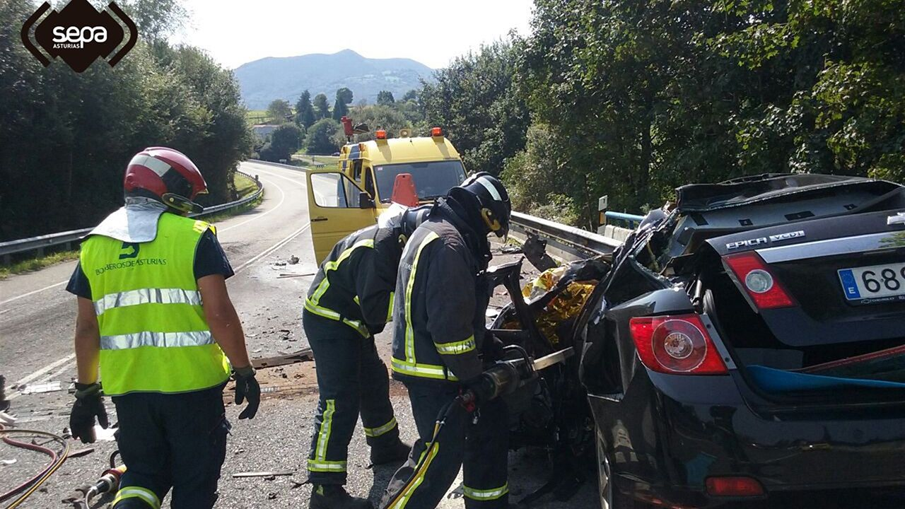 Accidente mortal en Naca