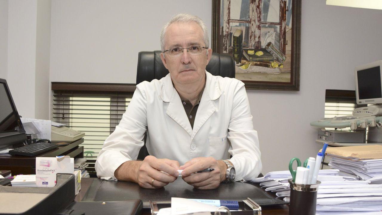 El ginecólogo Isidro Lago es el presidente del Colegio Oficial de Médicos de Pontevedra