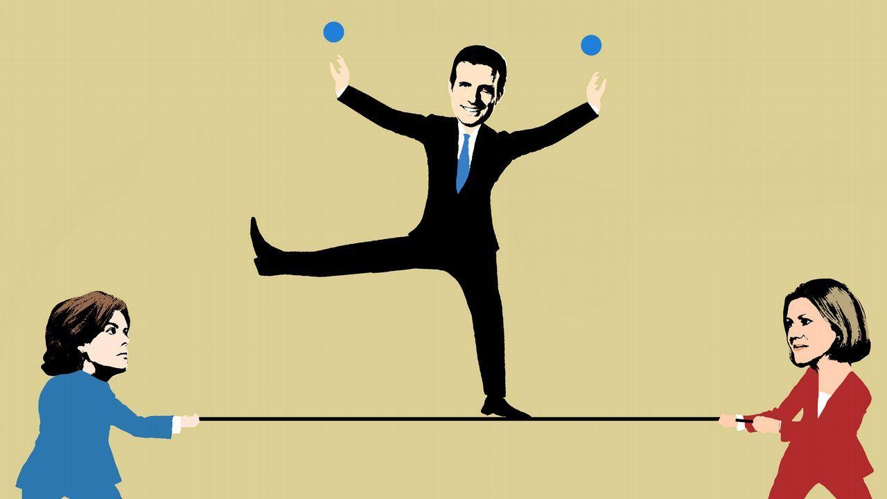 Rajoy disfruta de unos días de descanso enGalicia.Margallo agradeció a Feijoo su «neutralidad» en el proceso