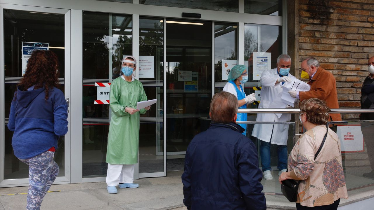 Control de accesos en el centro de salud Virxe Peregrina de Pontevedra