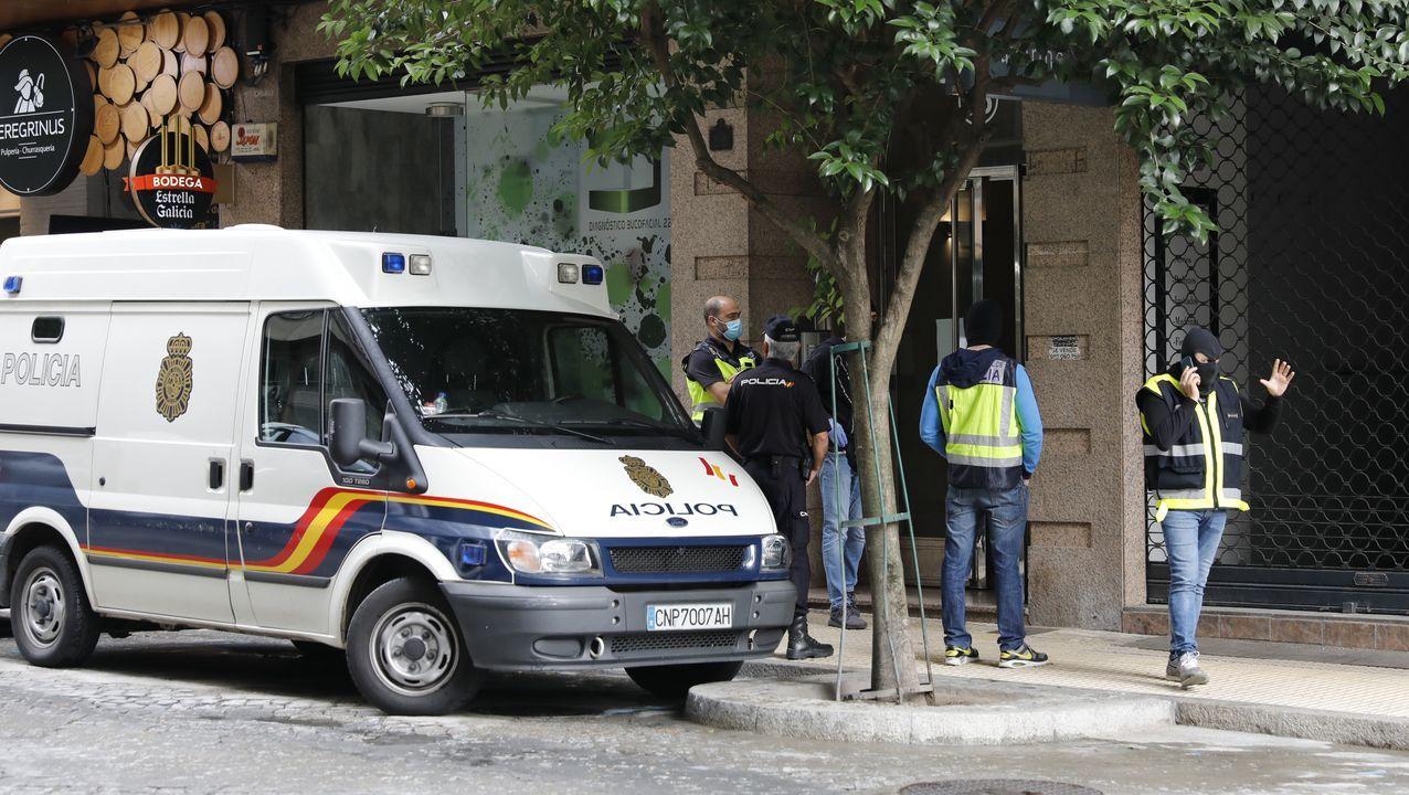 Fachada del hospital Reina Sofia, en Murcia, adonde fue trasladada la familia tras el accidente de tráfico
