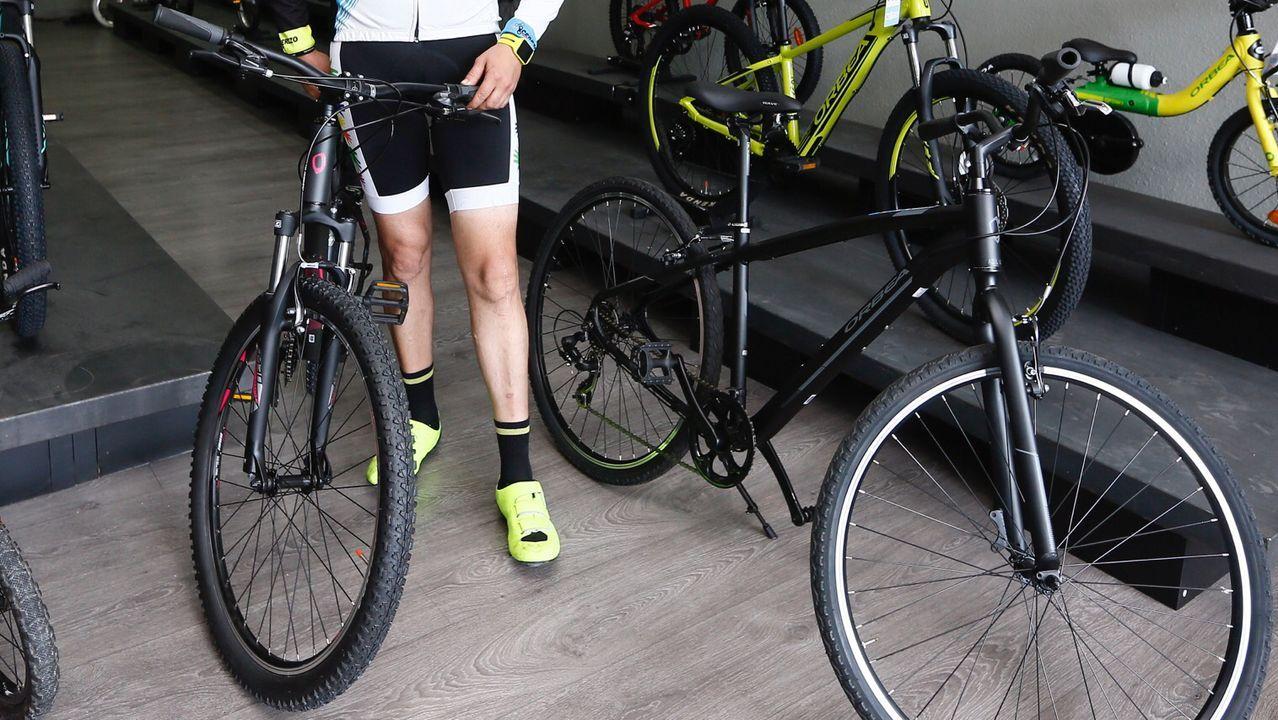 Fiesta de la bicicleta en Viveiro