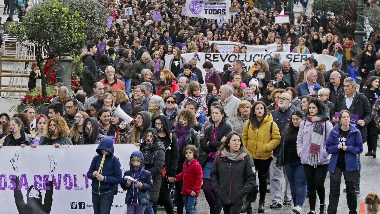 Manifestación en Vigo