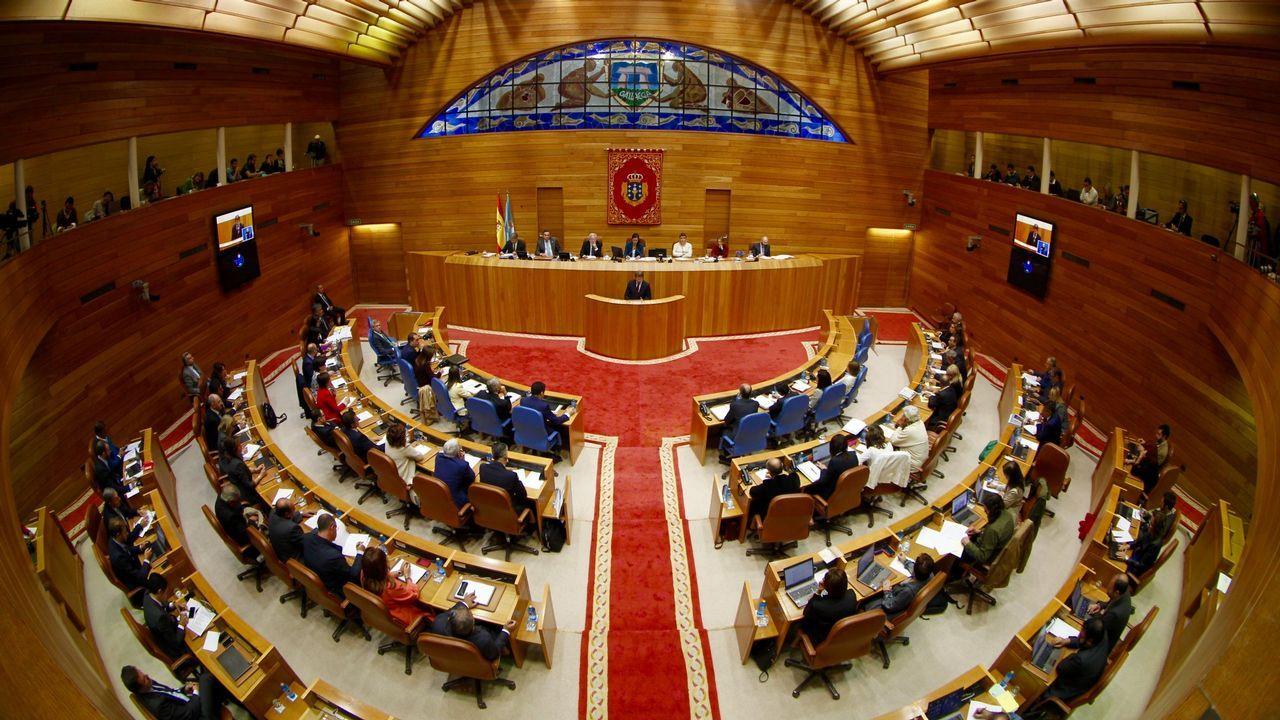 En directo: Debate entre os candidatos ás primarias do PSdeG
