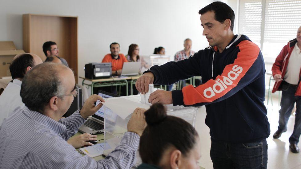 Xulio Ferreiro, candidato de la Marea