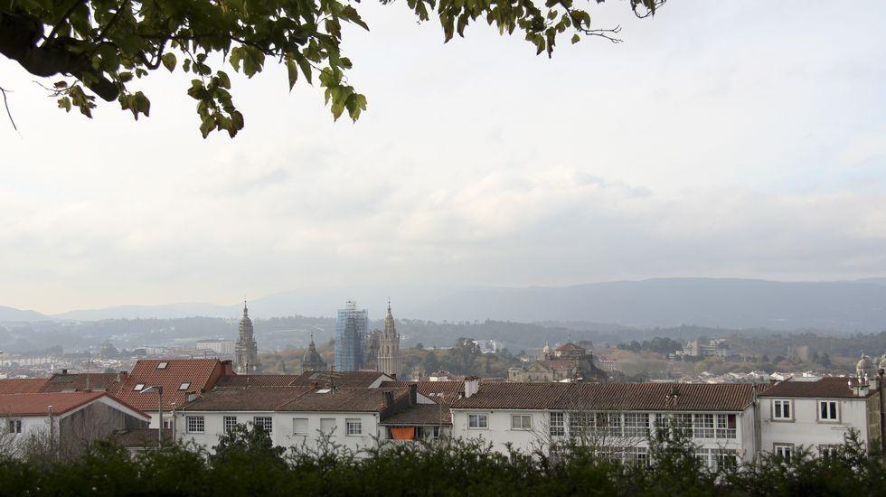 Vistas de la Catedral y el Casco Histórico desde el mirador de Almáciga.