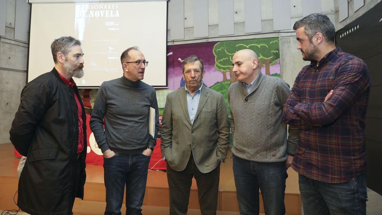 El Circuito da Caramiña de BTT, muy exigente.La presidenta de la Academia presentó el congreso junto a representantes del CCG, Xunta y SGAE