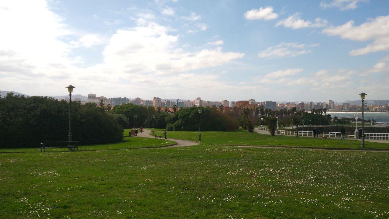 El parque del Rinconín, en Gijón.El parque del Rinconín, en Gijón