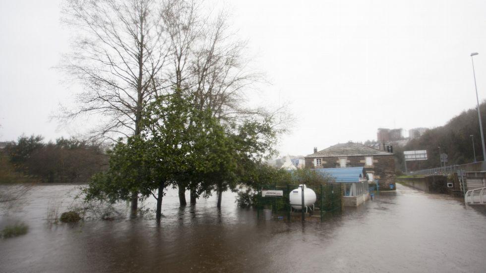 Desbordamiento del Miño en Lugo.