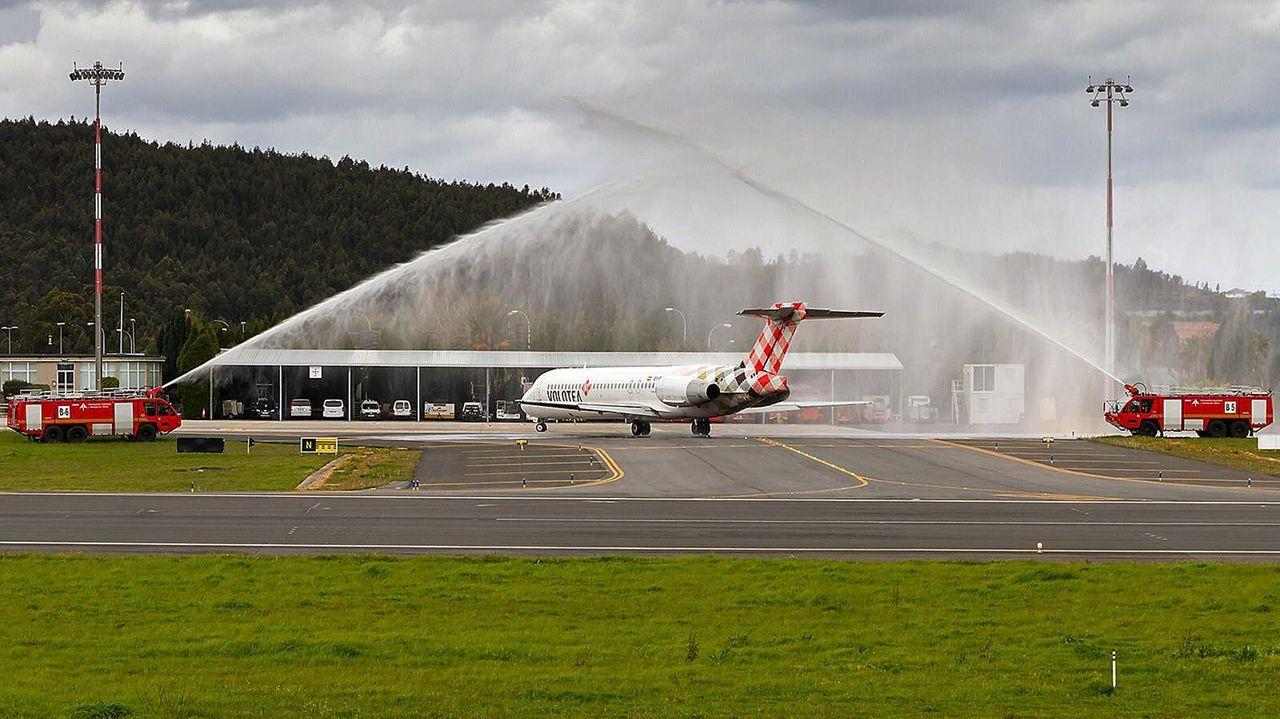 Vuelo inaugural de Volotea en abril del 2019