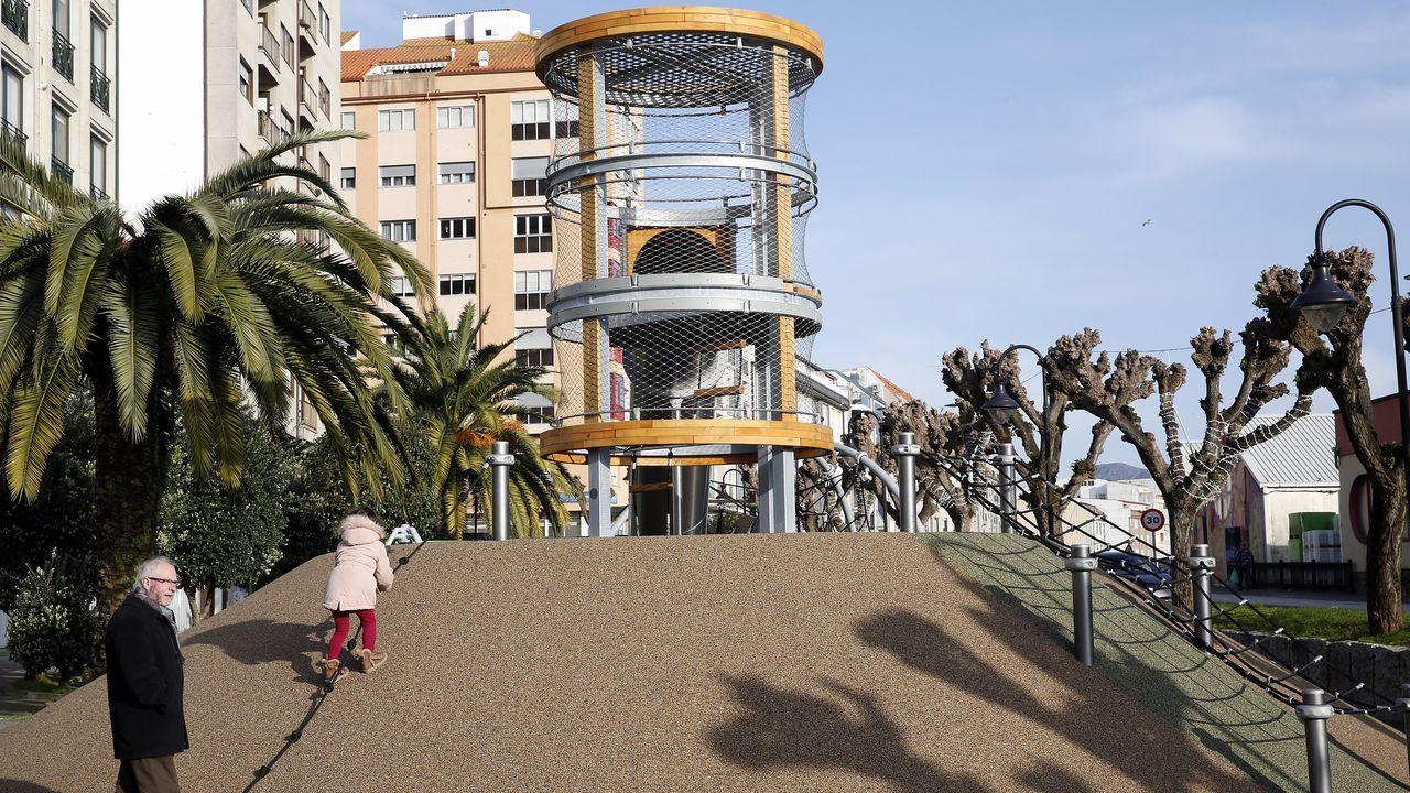 Chequeo al renovado parque García Bayón