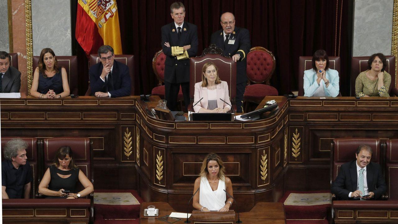 ¡A fichar toca!.Mitin del PP en Ribeira con Núñez Feijoo y Pablo Casado apoyando al candidato popular a la alcaldía, Manuel Ruiz Rivas
