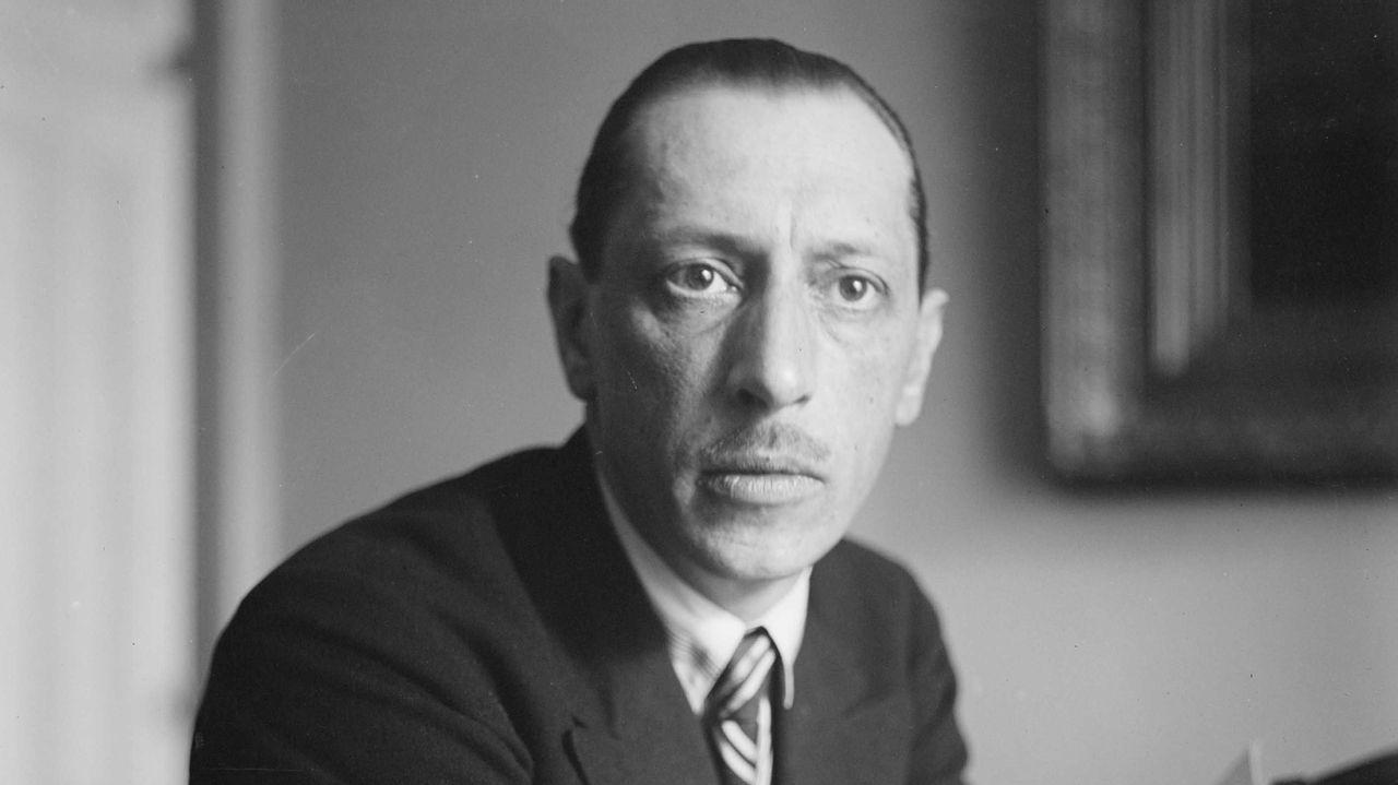 El músico Ígor Stravinski