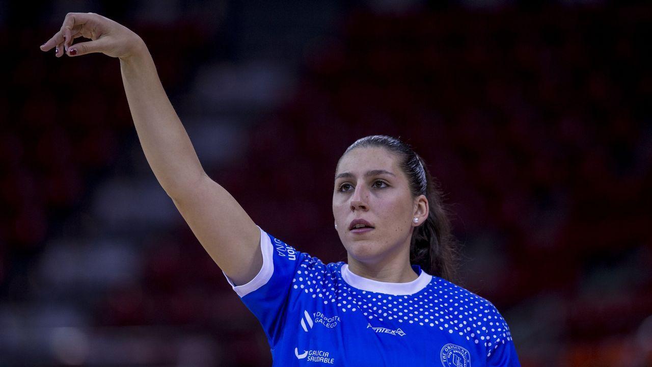 María Araújo. Al igual que Abalde, fue otro de los descartes finales de la selección de baloncesto de cara al último Mundial.