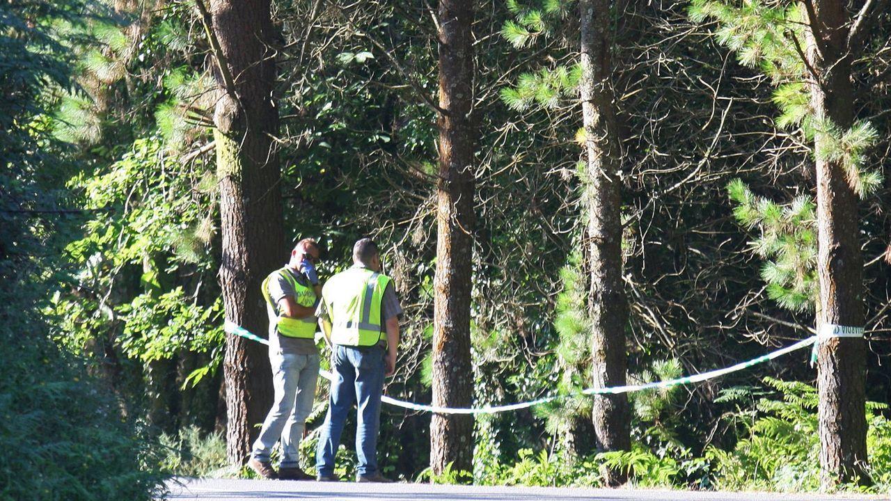 Imagen de archivo del lugar en el que apareció el cadáver de Elisa Abruñedo