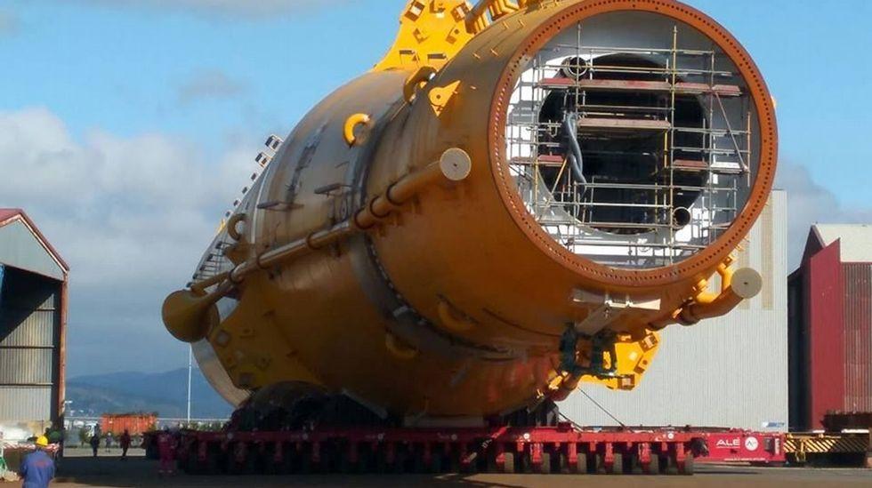 ¿Habría salvado la cosecha este ventilador gigante?.Molino de energía eólica