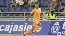 Yoel Bárcenas en el Tenerife-Real Oviedo