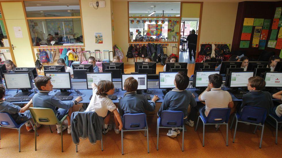 Hasta ahora, algunos colegios innovadores aprovechaban espacios neutros como los pasillos para derivar parte de las horas de aprendizaje y romper las rutinas del aula