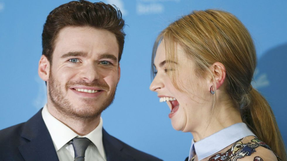 Richard Madden y Lily James
