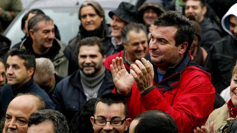 Asamblea de los trabajadores de limpieza de Madrid