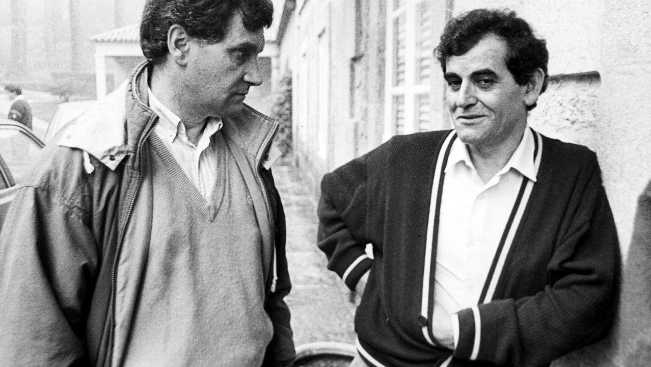 ¡Mira en imágenes la primera carrera popular Faro Roncudo!.Mariano Haro, a la derecha, con el gallego Álvarez Salgado en una imagen de archivo