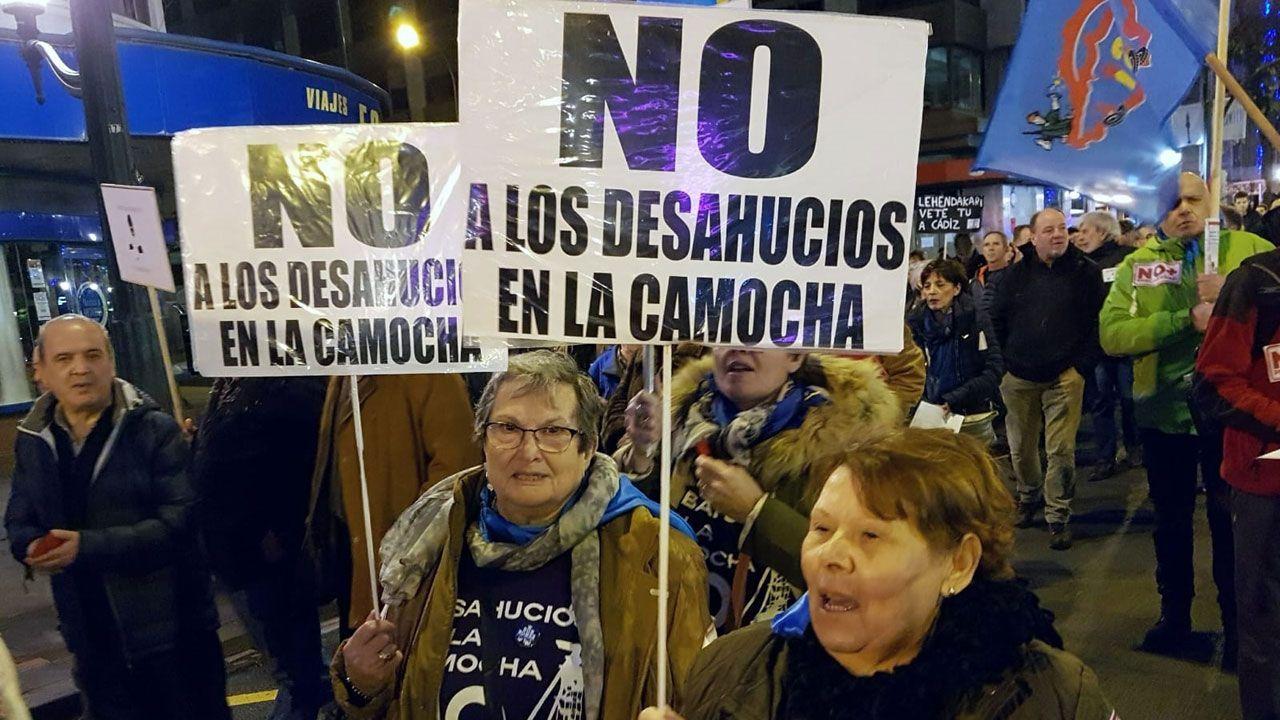 Manolita y Nair exportan la lucha de los vecinos de La Camocha
