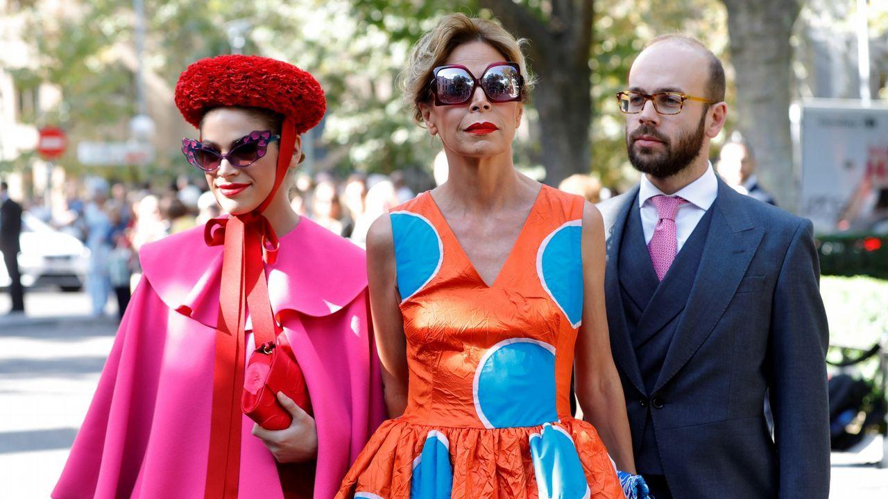 La reina Sofía cumple 80 años.Ágatha y su hija fueron, sin duda, las más originales