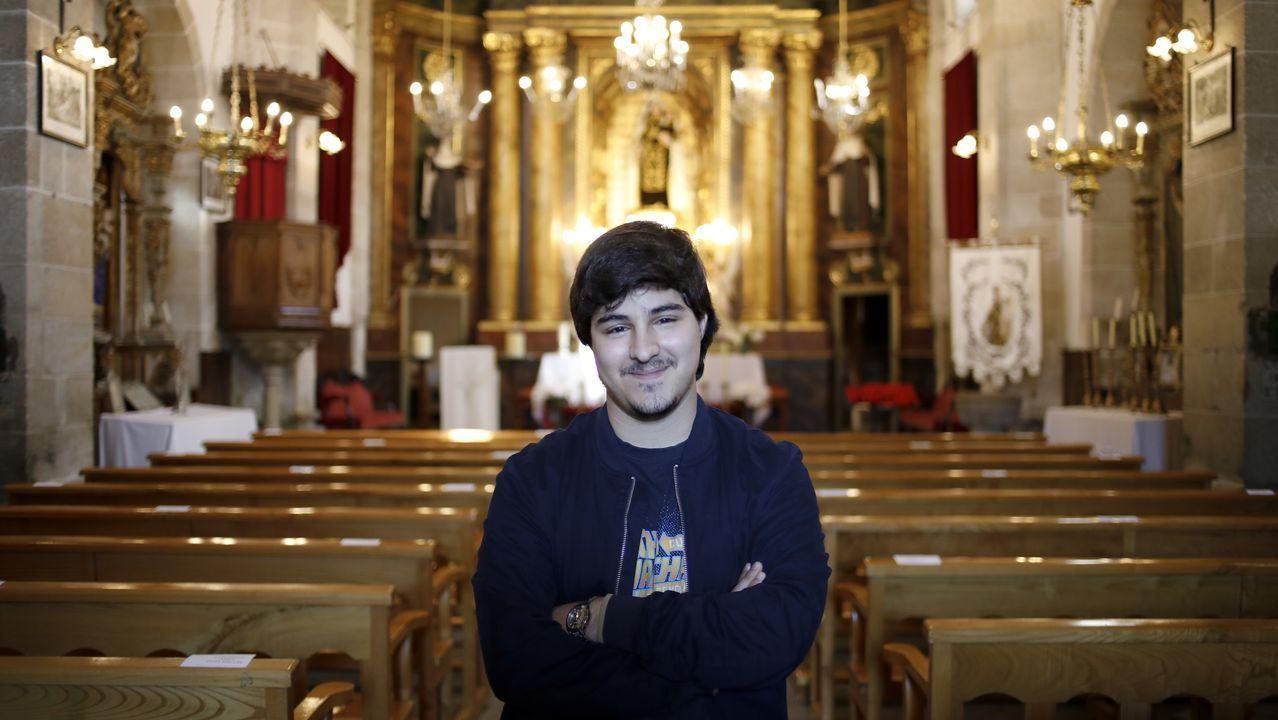 Santiago Iglesias, secretario de la Cofradía de la Iglesia del Carmen