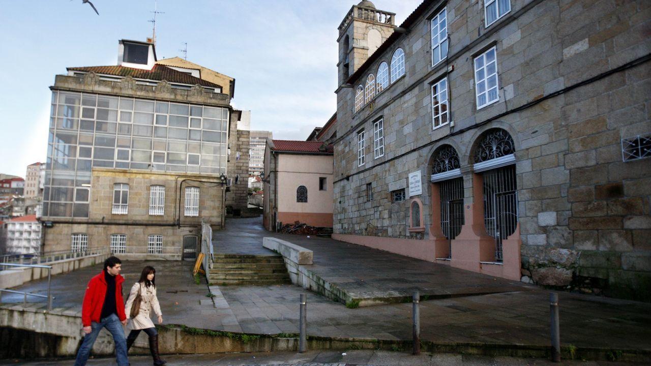 La Ciudad de la Justicia de Vigo, cada día más cerca.Oficinas del nuevo juzgado de lo social de Vigo, el número 7, que se puso en marcha este miércoles