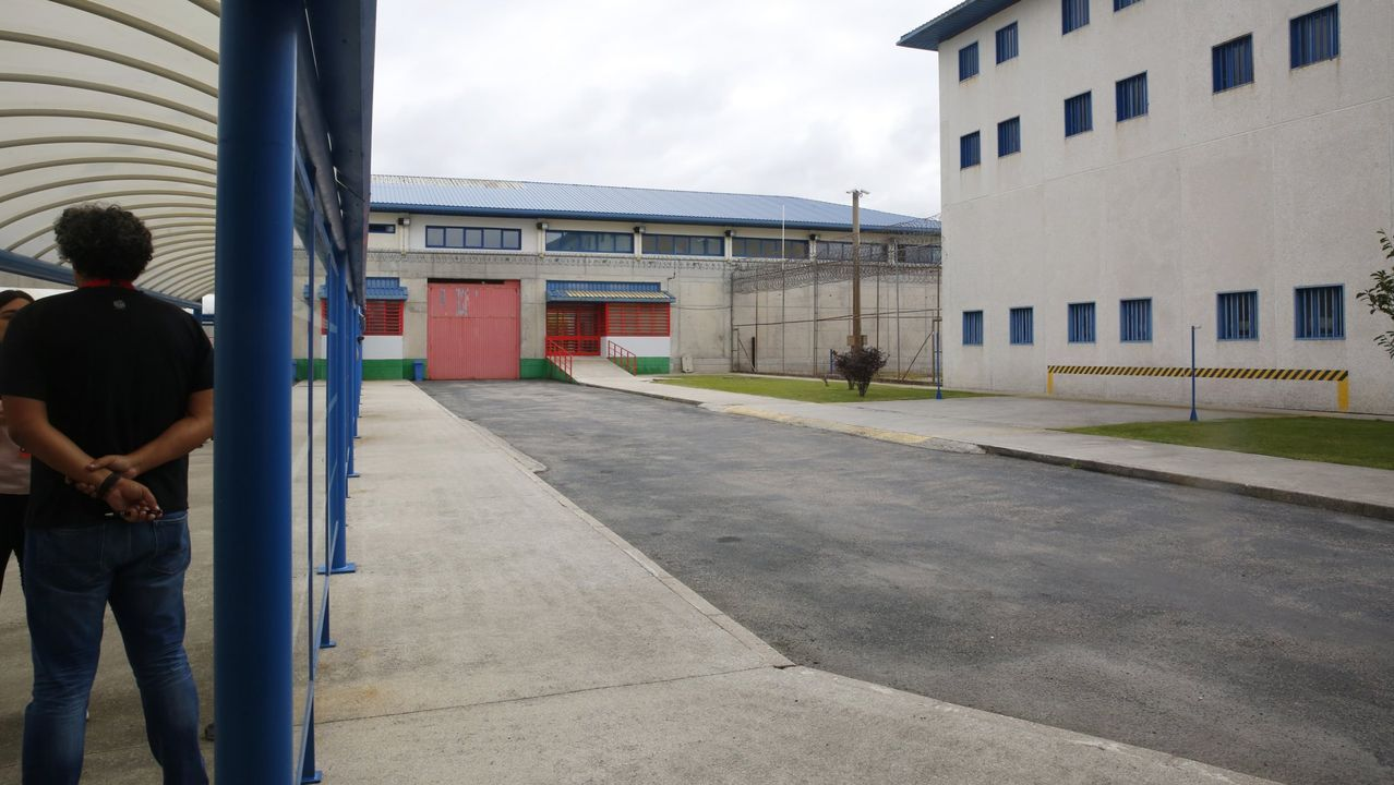 Interior del centro penitenciario de A Lama
