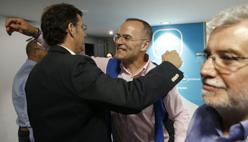Cronología del caso Baltar.Tras recuperar la alcaldía de Ourense, Vázquez se sitúa como el referente del PP en la ciudad.