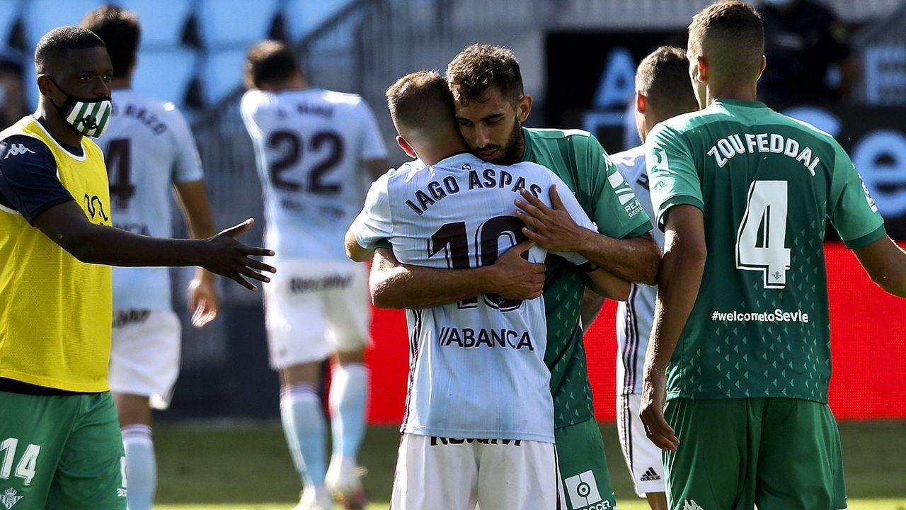 342 - Celta-Betis (1-1) el 4 de julio del 2020