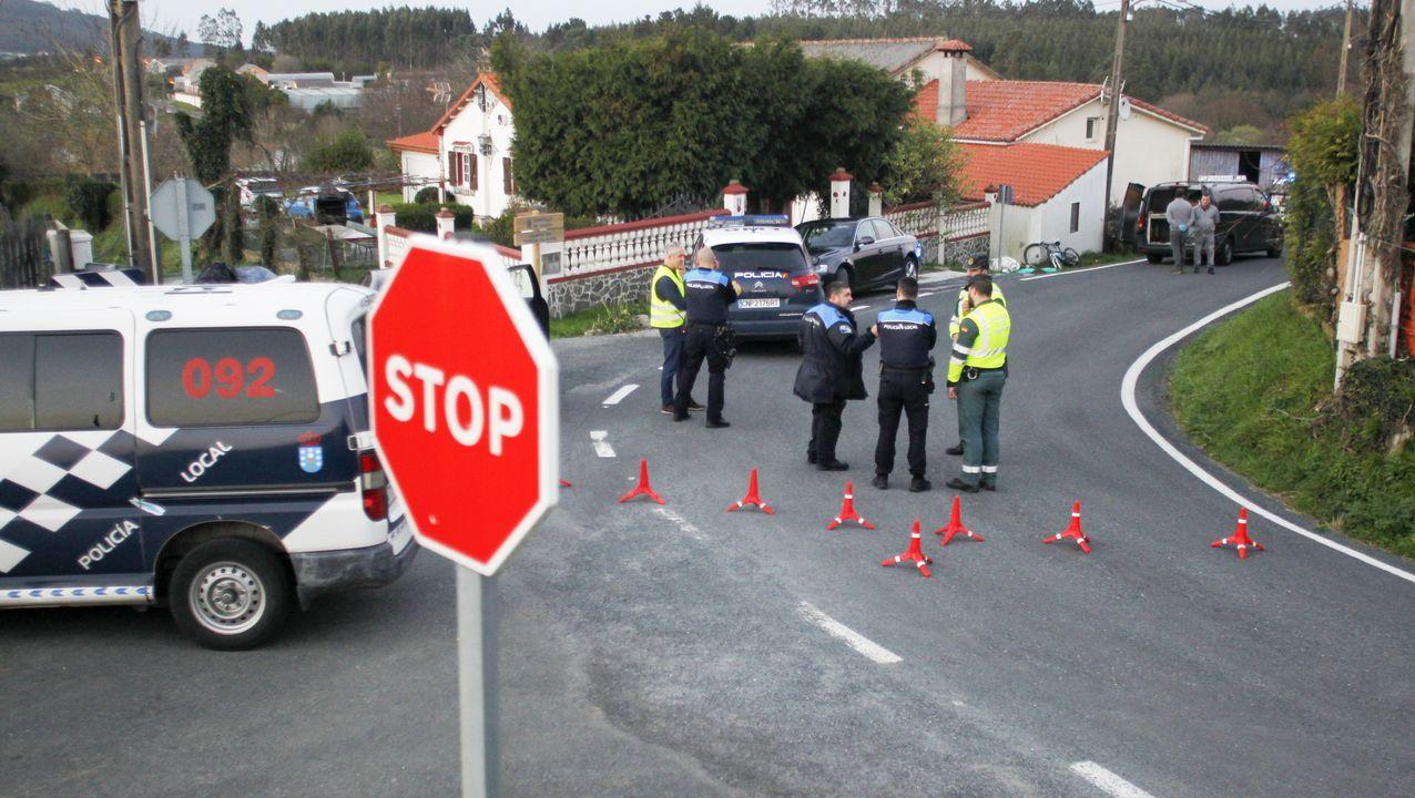 Adiestramiento de las Unidades del Mando de Acción Marítima de Ferrol.Primera revisión de contenedores con productos de origen animal en la instalación recién inaugurada