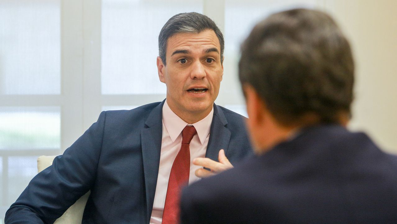 Comparecencia de Pedro Sánchez.La vicepresidenta Carmen Calvo, en una imagen de archivo