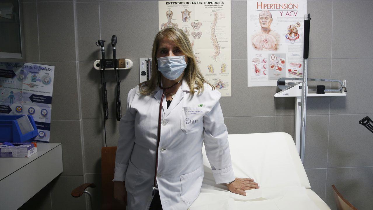Inicio del curso en las guarderías privadas de A Coruña.Entrada de un enfermo en el Chuac