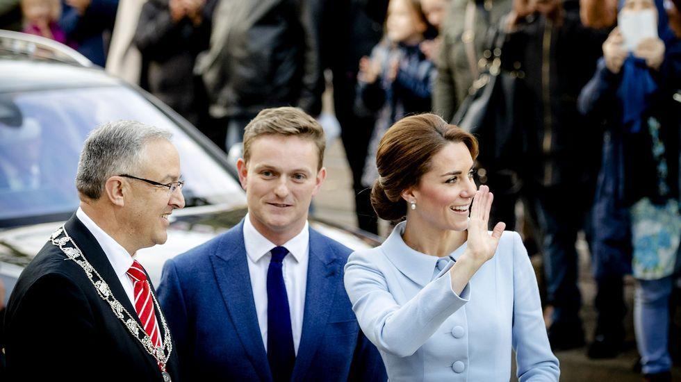 El primer viaje oficial al extranjero de Kate Middleton sin su marido