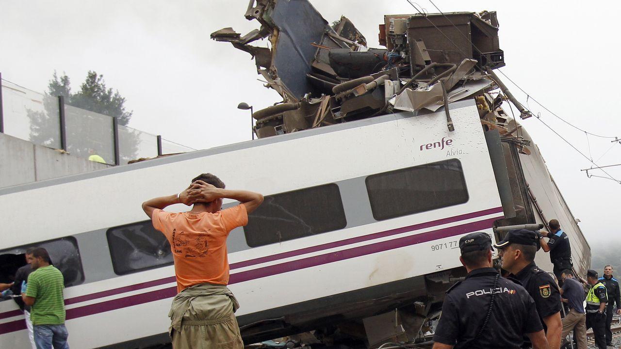 La estación itermodal de Vigo cobra forma.El accidente de Angrois supuso un punto de inflexión en la seguridad ferroviaria