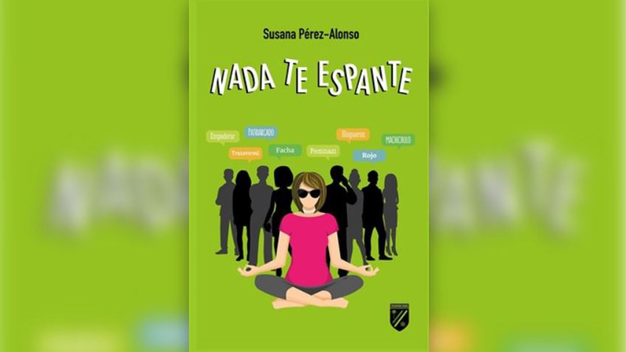 La escritora asturiana Susana Pérez-Alonso presenta su nueva novela «Nada te espante»